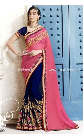 #Sari Sahana - #Rose #Indian #Saree #Bollywood #NarkisFashion