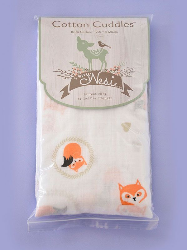Cotton Cuddles – Fox by @myNesiProducts
