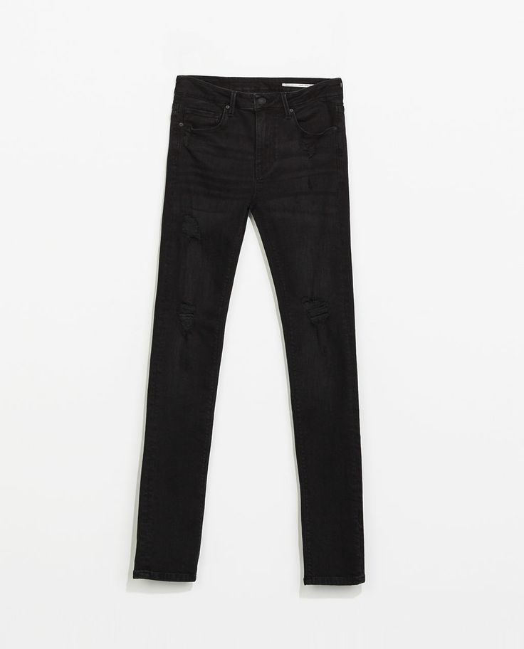 Image 7 of RIPPED JEANS from Zara