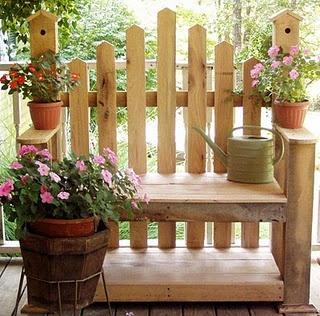 Birdhouse Bench