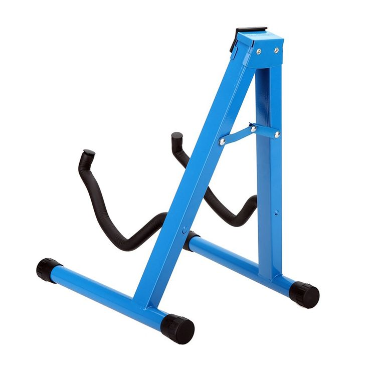24.34$  Watch here - http://aliwwl.shopchina.info/go.php?t=32810299412 - Universal Guitar Stand Holder Folding A-Frame Design Rest Fits for All Acoustic Electric Bass Guitar Parts  #buyininternet