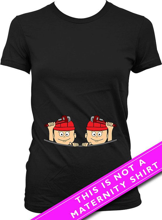 For entire collection of Twin Peeking Baby Shirts: https://www.etsy.com/ca/shop/Materniteees?section_id=17746105&ref=shopsection_leftnav_4  Pregnancy Reveal Baby Twins Firefighter T Shirt  Welcome to Materniteees, pregnancy clothing made fun! ▄▄▄▄▄▄▄▄▄▄▄▄▄▄▄▄▄▄▄▄▄▄▄▄▄▄▄▄▄▄▄▄▄▄▄▄▄▄▄▄▄▄▄▄▄▄▄▄▄▄▄ COUPON CODES: Here is our way of saying thanks!  BUY 3 ITEMS GET 1 FREE (apply the coupon code 1FREE at checkout) BUY 6 ITEMS GET 2 FREE (apply the coupon code 2FREE at checkout) BUY 9 ITEMS GET 3…