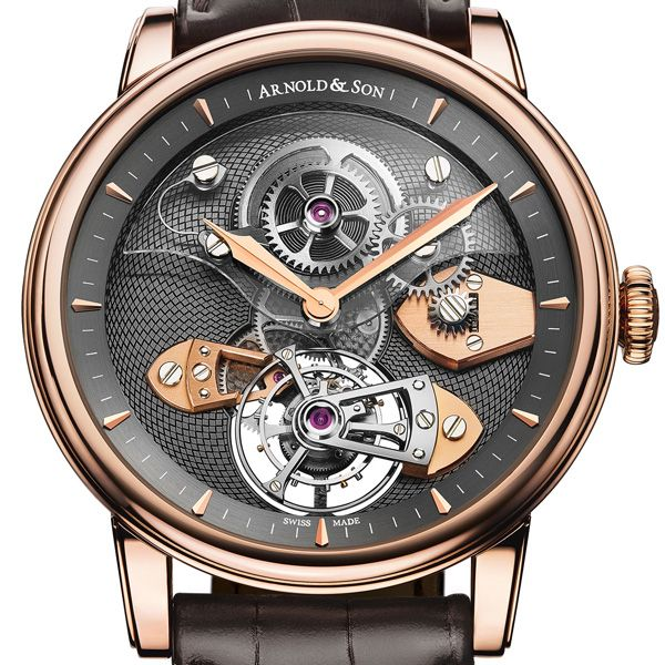 Arnold  Son Royal collection New TES Tourbillon  True to English watchmaking heritage, Arnold  Son unveils the TES Tourbillon, with the hand-finished AS8100 calibre with sapphire barrel bridge. This defining timepiece is part of the Royal Collection which combines classic styling with leading- edge technology (See more at En: http://watchmobile7.com/articles/arnold-son-royal-collection-new-tes-tourbillon) #watches #arnoldandson