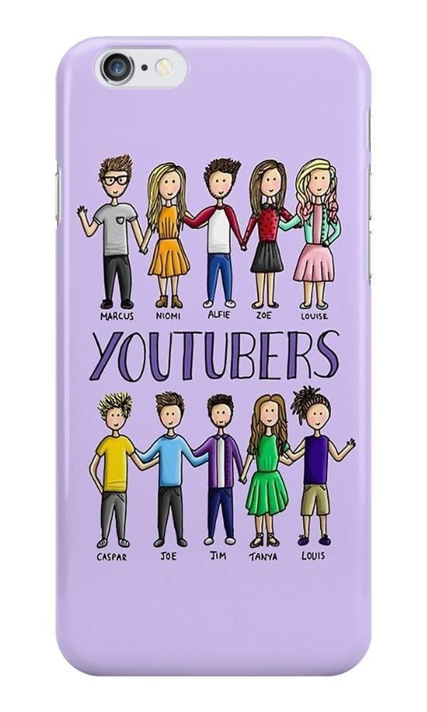 Our British YouTubers Cartoon Phone Case is available online now for just £6.99.    Fan ofMarcus, Niomi, Alfie, Zoe, Louise, Caspar, Joe, Jim, Tanya & Louis? You'll love our latest 'British YouTuber' phone case.    Material: Plastic, Production Method: Printed, Authenticity: Unofficial, Weight: 28g, Thickness: 12mm, Colour Sides: Clear, Compatible With: iPhone 4/4s | iPhone 5/5s/SE | iPhone 5c | iPhone 6/6s | iPhone 7 | iPod 4th/5th Generation | Galaxy S4 | Galaxy S5 | Galaxy S6 | Galaxy S6