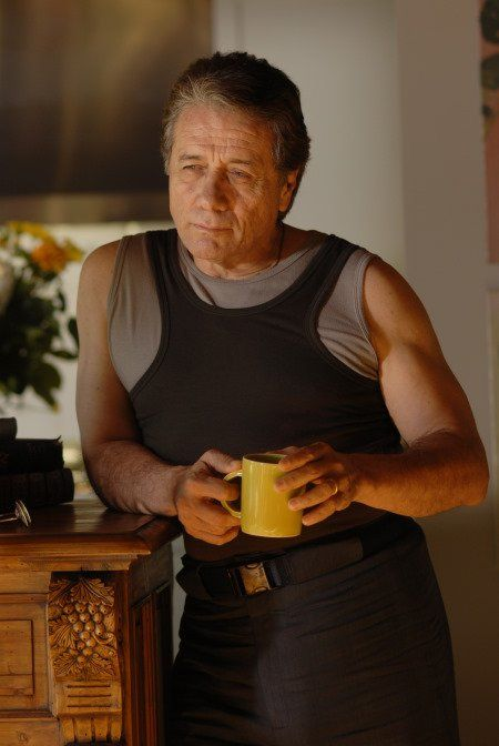 Edward James Olmos in Battlestar Galactica (2004)