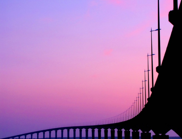 Neverending Bridge  // La Rochelle, Poitou-Charentes, France