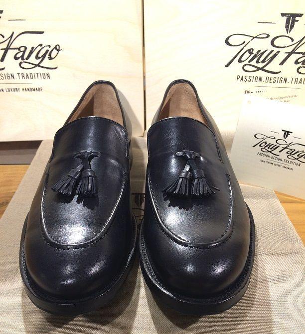 Black Loafer HandMade Tony Fargo