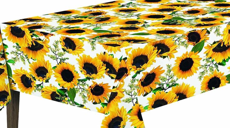 Essential Sunflower Design Indoor/Outdoor Tablecloth