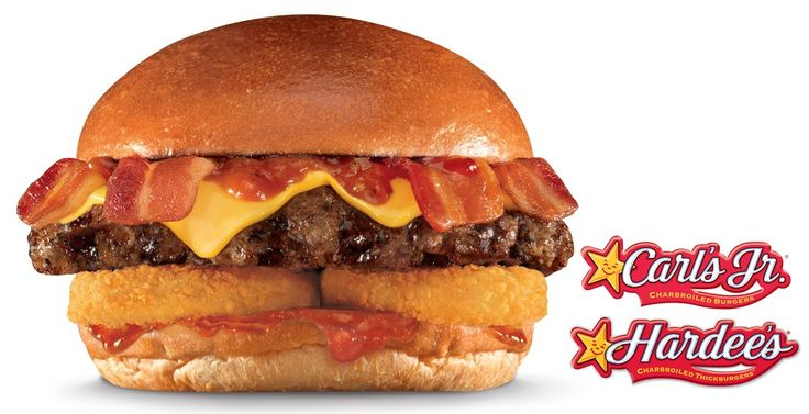 Double the bacon in the Western X-tra Bacon Cheeseburger and X-tra Bacon, Egg, and Cheese Biscuit from Carl's Jr./Hardee's