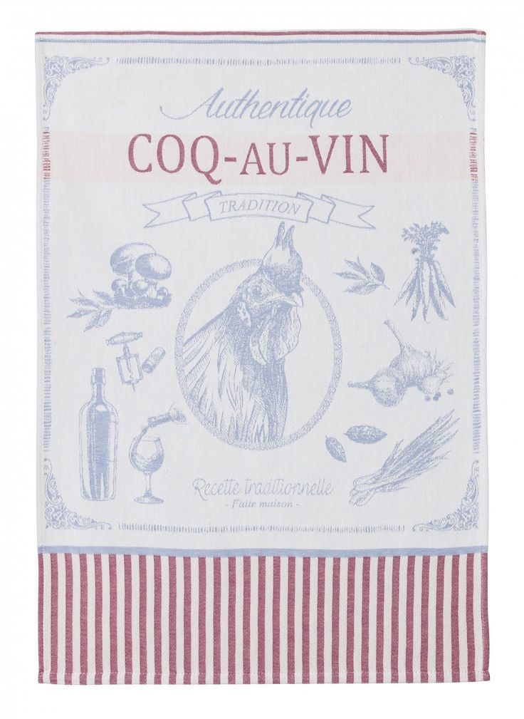 Coucke cotton tea towels - Madison