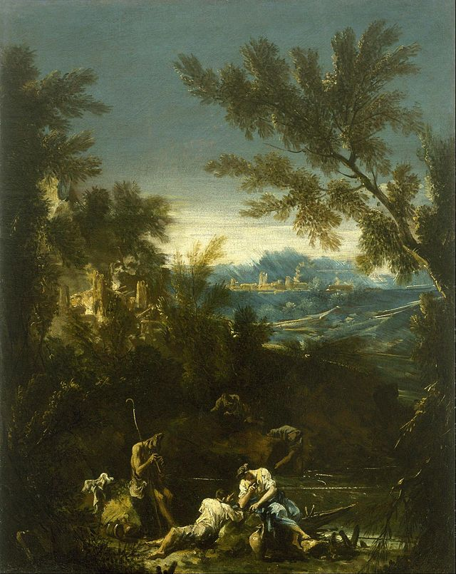 Alessandro Magnasco - Landscape with Figures - Google Art Project.jpg