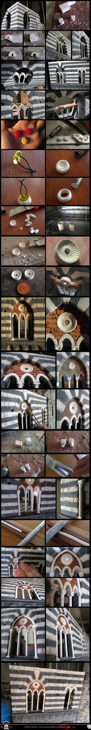 Domus project 202-209-211: Three mullioned window