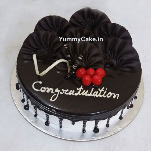 Book order for congratulation cake from #Yummycake now at best price. #Congratulationcake