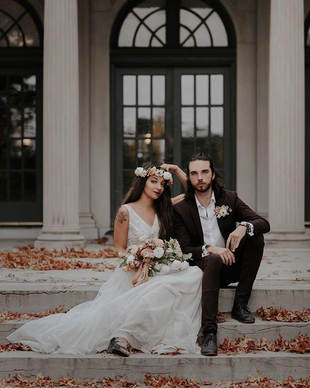 Fall Wedding Style Jordan Taylor Photography Tulsa Garden