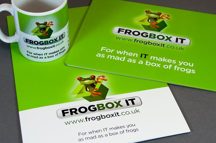 """DW design have completed artwork and a website for Frogbox IT.  Approachable and professional, they undertook the work efficiently and met deadlines set.""   - Frogbox IT"