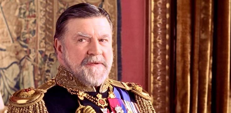 """George V: Alan Bates in """"Bertie & Elizabeth"""" http://www.imdb.com/title/tt0310733/"""