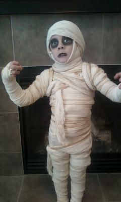 great mummy costume!