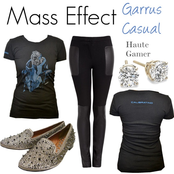 Mass Effect Garrus Casual Look