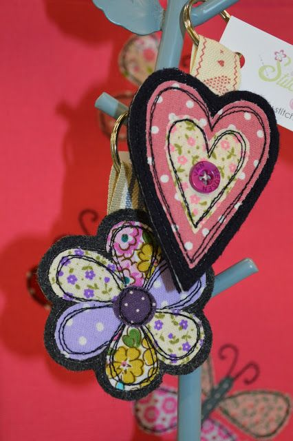Stitch Galore: Handmade Key Rings