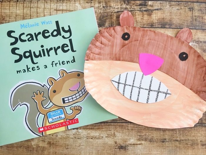 Promote Reading With This Fun Scaredy Squirrel Craft                                                                                                                                                                                 Más