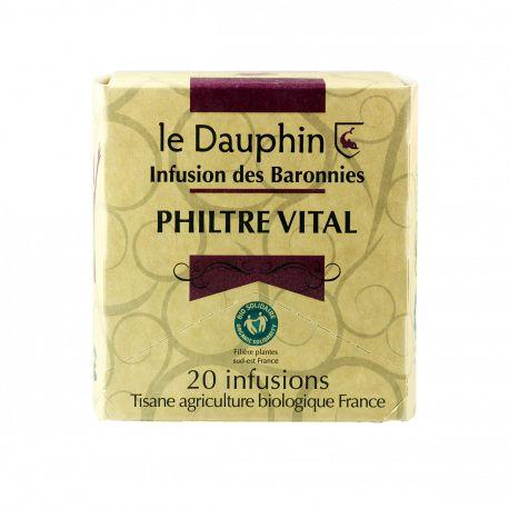 "Tisane bio ""Philtre Vital"" - plante vrac - Le Dauphin"