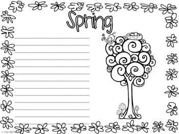 Opinion Writing - This writing packet is a great way to introduce students to opinion paragraph writing. Students will write what they like about each season to make a really cute four seasons booklet. Common Core Writing 2nd 3rd #opinionwriting #commoncorewriting