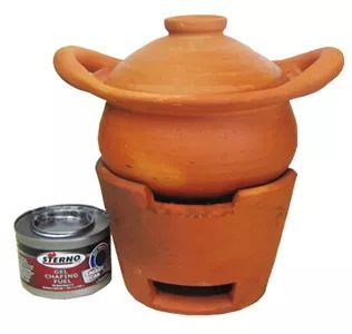 Clay Pot with Sterno