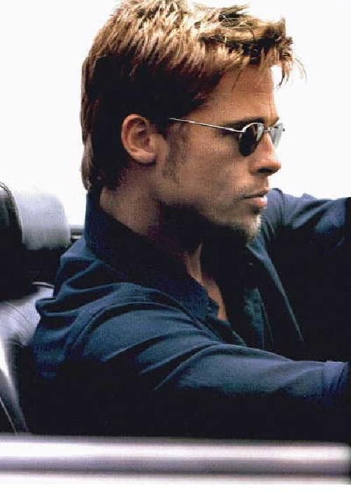He looked pretty damn good. Especially during the Fight Club era. Love Fight Club. :)