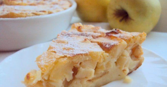 Máte rádi jablka a tvaroh, tak tento rychlý dezert je přímo pro vás.