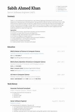 image result for senior software engineer resume