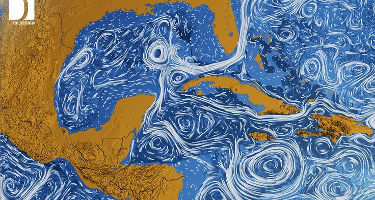 """Better Than A Van Gogh: NASA Visualizes All The World's Ocean Currents    OUR OCEANS ARE EVERY BIT AS TURBULENT AS """"STARRY NIGHT.""""    via FastCoDesign    http://www.fastcodesign.com/1669361/better-than-a-van-gogh-nasa-visualizes-all-the-worlds-ocean-currents"""