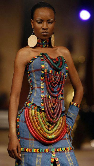 by Nigerian designer Adegbe