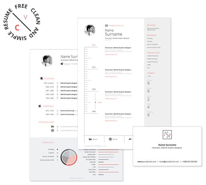 The 25+ best Free printable resume ideas on Pinterest DIY - free resume templates printable