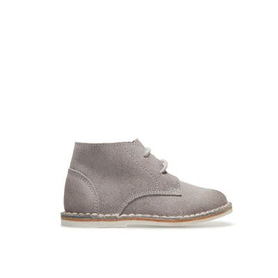 Leather desert boot - Shoes - Baby boy - Kids - ZARA United States