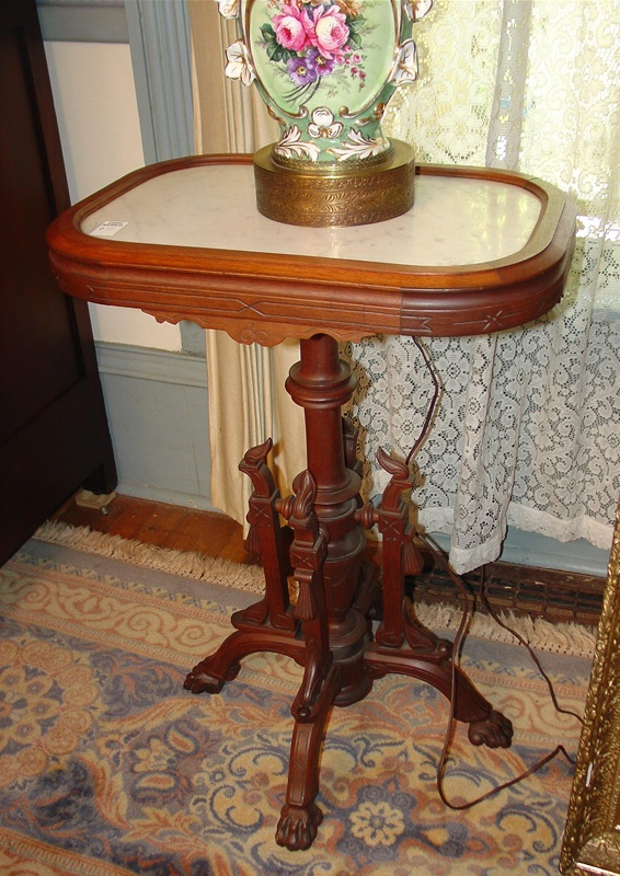 1870 Marble Top Table