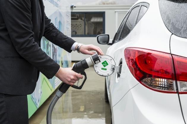 Voiture à hydrogène : des centaines de taxis électriques à Paris