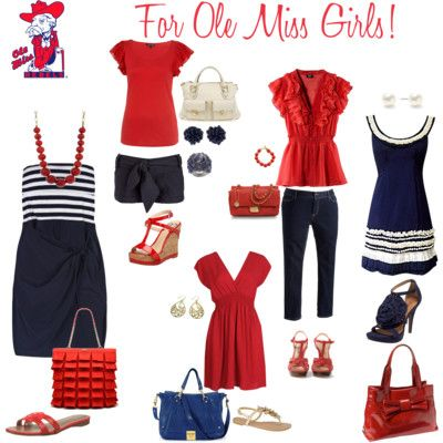 not an ole miss fan but i have to find some cute outfits for the games