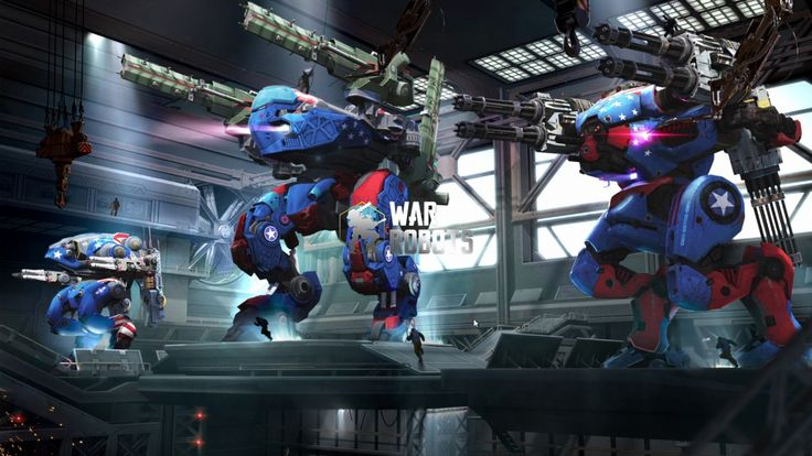 War Robots SHOOTER GAME play #4 - War Robots is a Free-to-play Third person Multiplayer Shooter Game playable on Facebook Gameroom and featuring dozens of combat robots hundreds of weapons combinations and heated clan battles