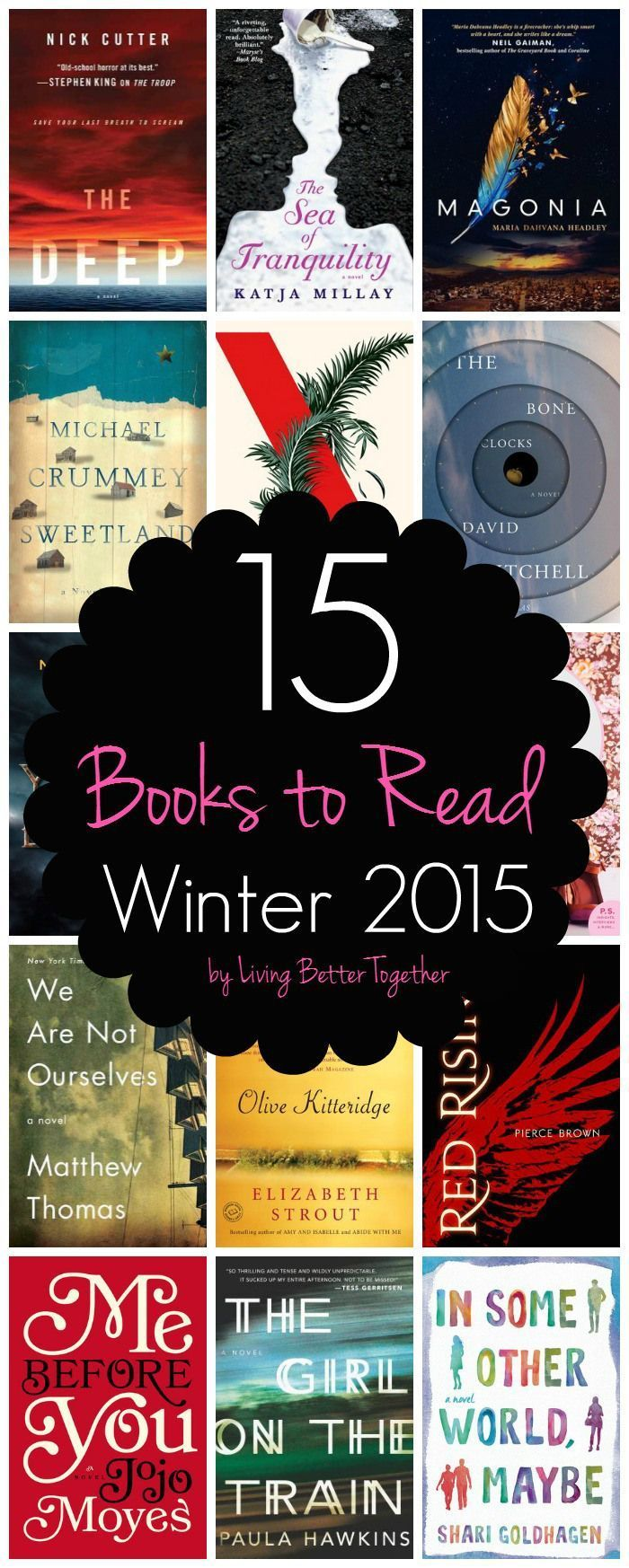 15 Books To Read  Winter 2015