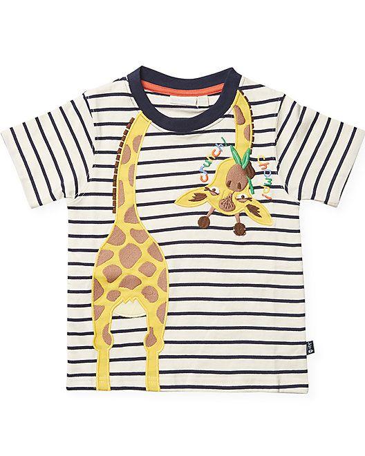 d2880345 JoJo Maman Bu00e9bu00e9 Giraffe T-Shirt #Maman, #JoJo, #Shirt   Casual  Dresses For Women   Shirts, T shirt, Casual dresses for women