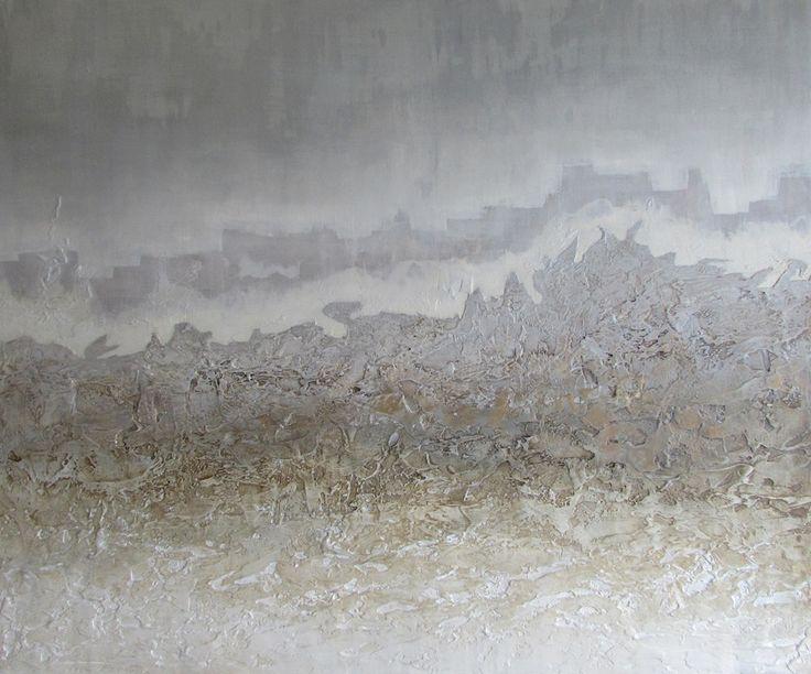 Obrazy abstrakcyjne, pejzaż abstrakcyjny Sylwia Michalska