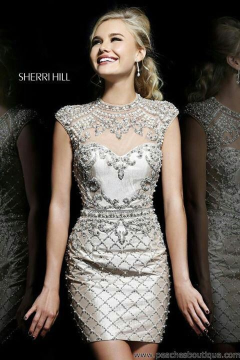 •❈• Sherri Hill short dress 2