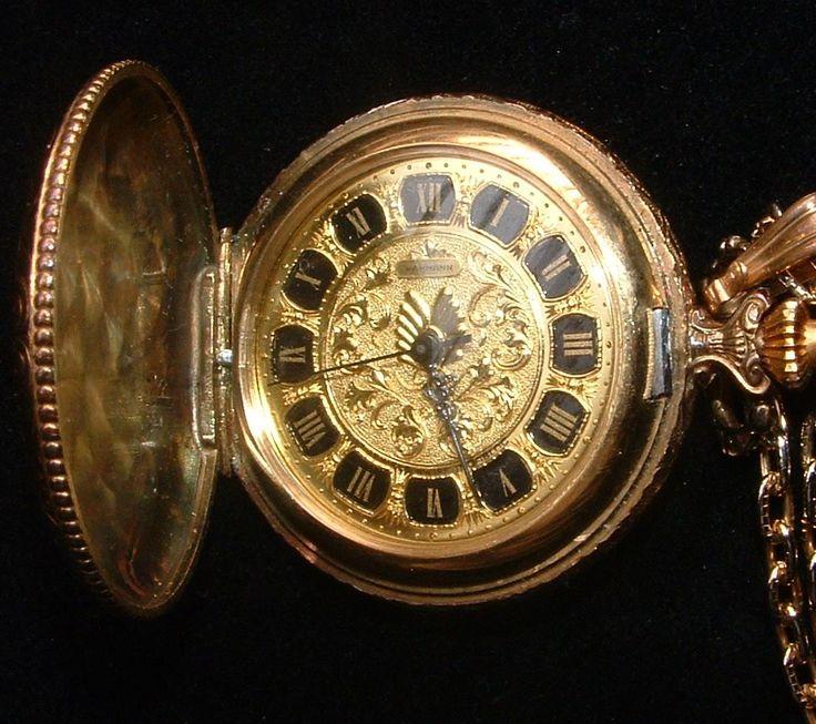 vintage wakmann pocket watches