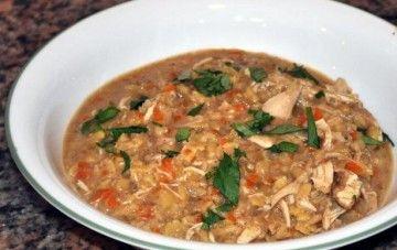 Lentil and chicken stew- Dr Mark Hyman