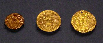 Crusader coins of the Kingdom of Jerusalem - Bezant - Wikipedia, the free encyclopedia