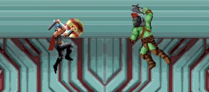 'Thor #Ragnarok Gets the 8-Bit Trailer Treatment #SuperHeroAnimateMovies #ragnarok #trailer #treatment