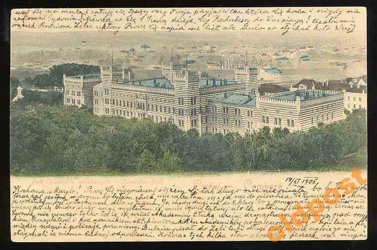1905 Lwów, Dom Inwalidów wojskowych.