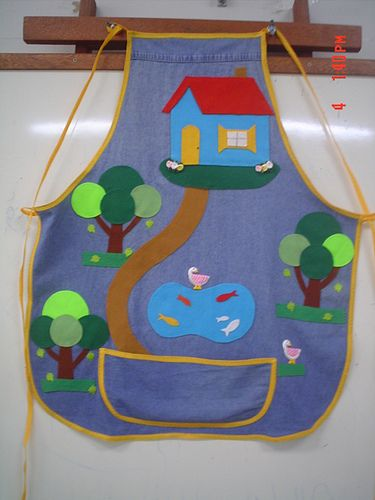 Avental de Histórias - Oficina de Arte SESC - 04/12/2008 - Projeto ENVOLVA-SE -
