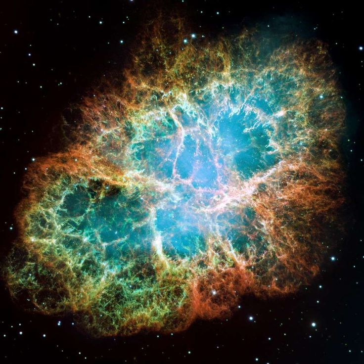 A Giant Hubble Mosaic of the Crab Nebula. I do believe I'm a bit of a Space Cadet in the best of ways.