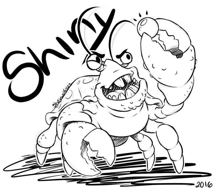 Tamatoa Little Crab by ShayWolf423